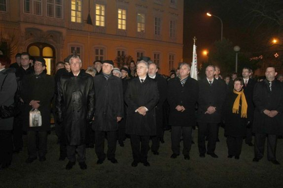 ünnepség sopronban 2011. december 14-én