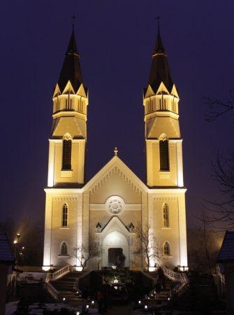 a Kálvária templom (fotó: szatmar.ro)