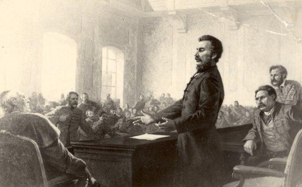 Ľudovít Štúr az országgyűlésen (utólag készült illusztráció)