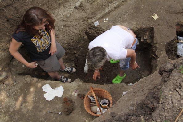 ásatás Egerben