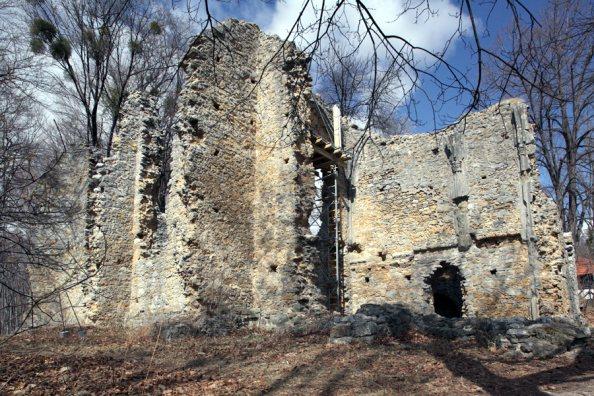 a szentléleki pálos kolostor romjai