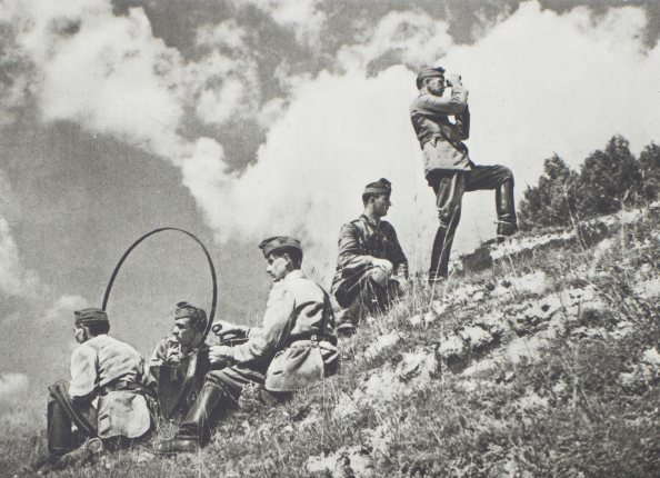 tüzérfelderítő járőr (1938–39)