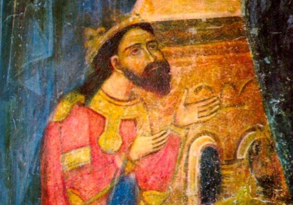 Negru Vodă (freskó a Curtea de Argeș-i ortodox kolostorban)