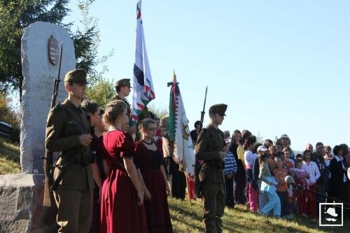 Megemlékezés a Gac-oldalban (fotó: Székelyhon.ro)