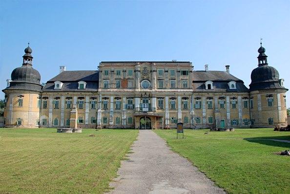 az edelényi L'Huillier–Coburg-kastély (fotó:  Labáth Gábor, keptar.oszk.hu)