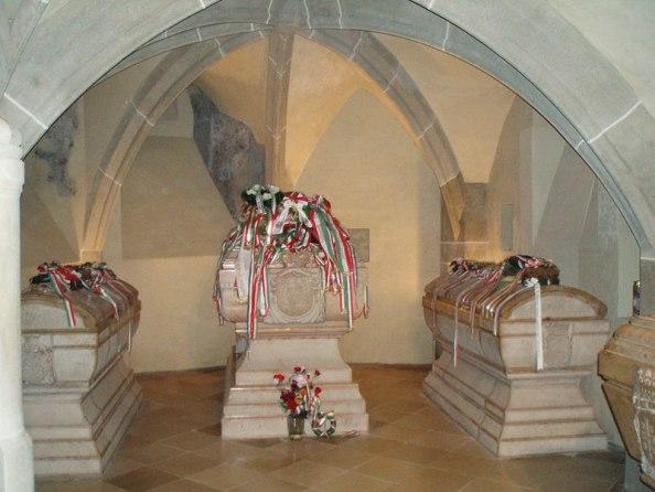 II. Rákóczi Ferenc síremléke a kassai dómban