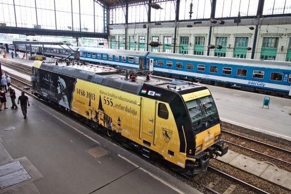 a Mátyás-mozdony
