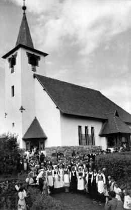 a szovátai református templom