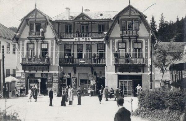 Heiter György szászrégeni fényképész villája (Erdélyi képeslapok a múltból, Borszék)