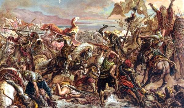 Jan Matejko: A várnai csata (1879, részlet)