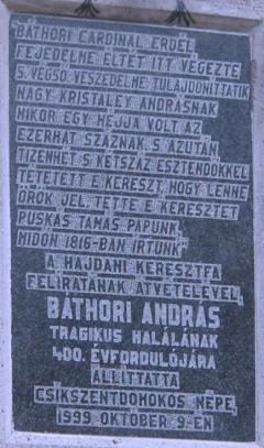 a pasztorbükki emlékmű