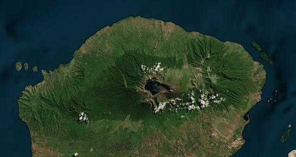 A Segara Anak krátertó a Samalason