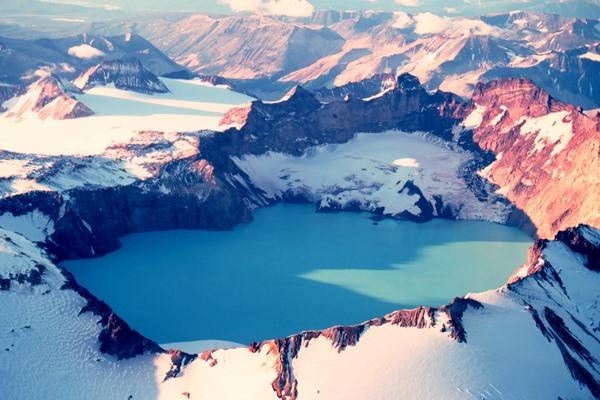 a Katmai kaldera