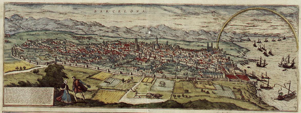 Barcelona a XVI. században