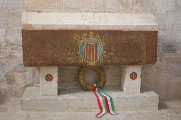 Magyarországi Jolánta királyné sírja a Santa María de Vallbona Királyi kolostorban. (Forrás: wikipédia)