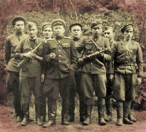 UPA-katonák a második világháborúban