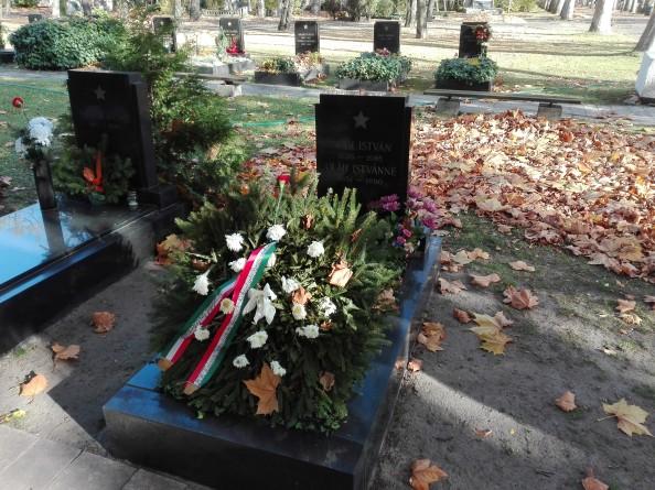 Oláh István hadseregtábornok sírja