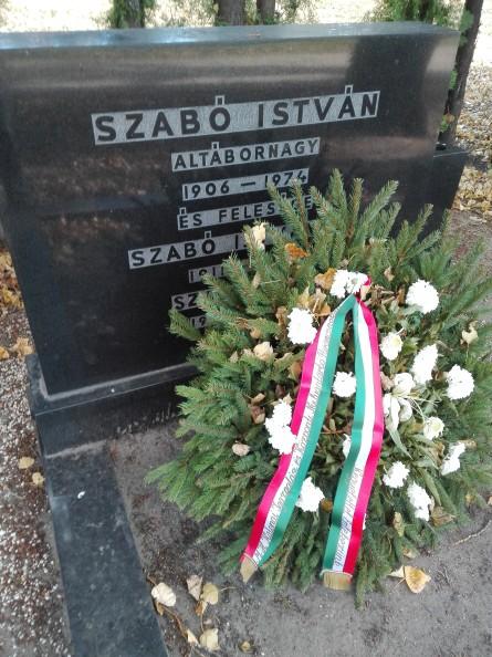 Szabó István altábornagy sírja