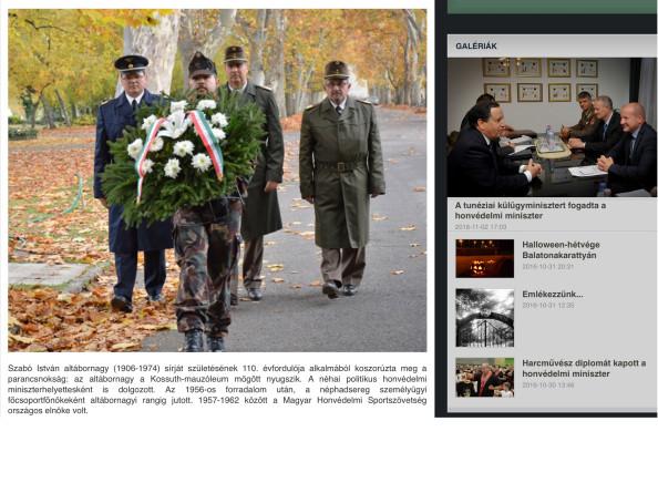 Vanyur Tibor ezredes, Ignáth Tibor alezredes és Nagy Gyula őrnagy